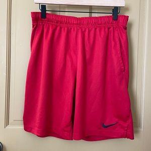 Nike DriFit Red Shorts Men's Size Medium